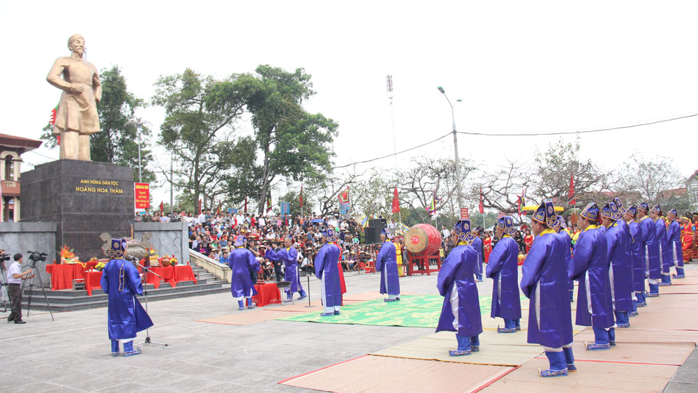 Bac Giang province, Goc Khe temple relic, Yen The Uprising, relic restoration, main temple, altar curtain, traditional history