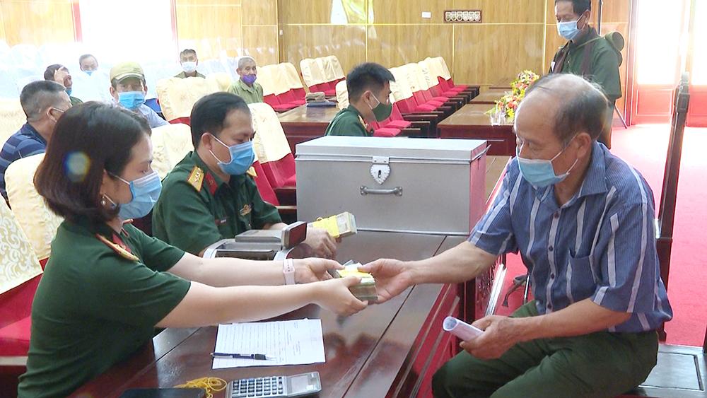 Bắc Giang: Gần 2,5 tỷ đồng chi trả truy lĩnh trợ cấp cho thương binh