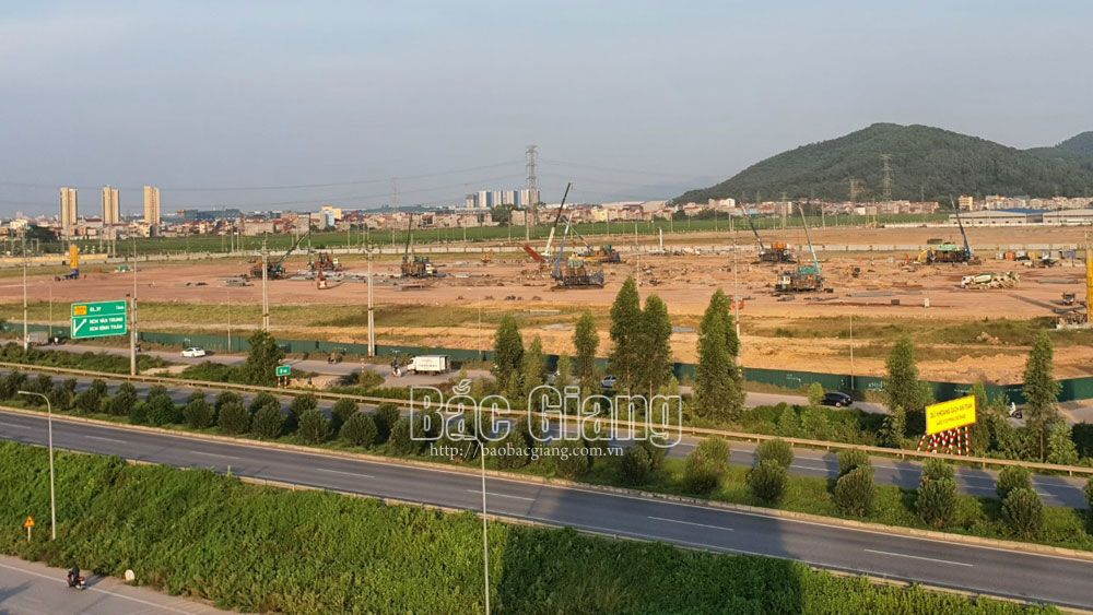 Five out of six new and expanded industrial parks in Bac Giang submitted to PM's approval for investment policy in October