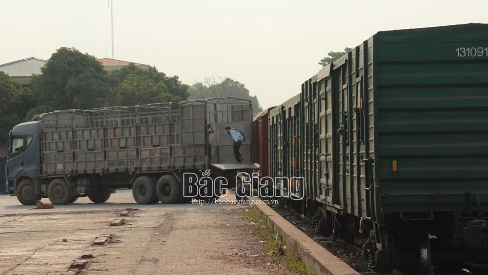 Bac Giang proposes developing Kep rail station into international multimodal transport terminal