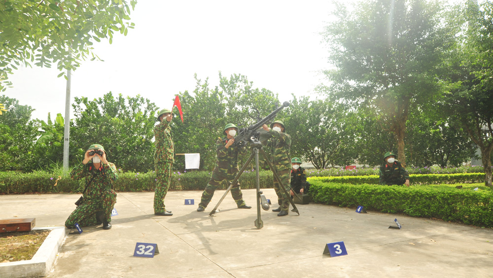 """Đảng bộ Quân sự tỉnh Bắc Giang: Chuyển biến từ chi bộ """"4 tốt, 3 không"""""""