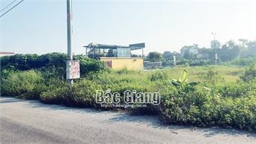 Bắc Giang: Khách hàng bỏ cọc 29 lô đất tại huyện Lạng Giang và TP Bắc Giang