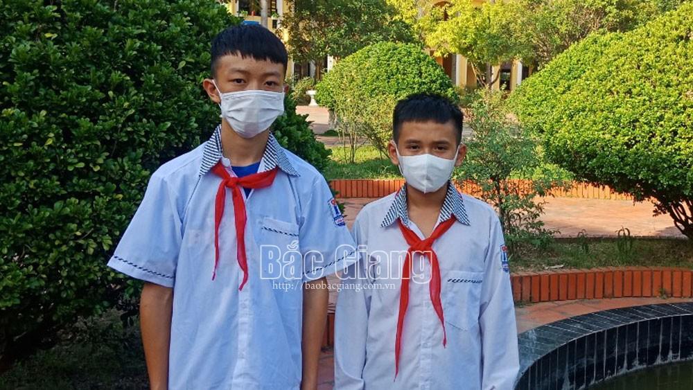 Bắc Giang, cứu bạn đuối nước, người tốt, THCS Tân Hưng, Lạng Giang