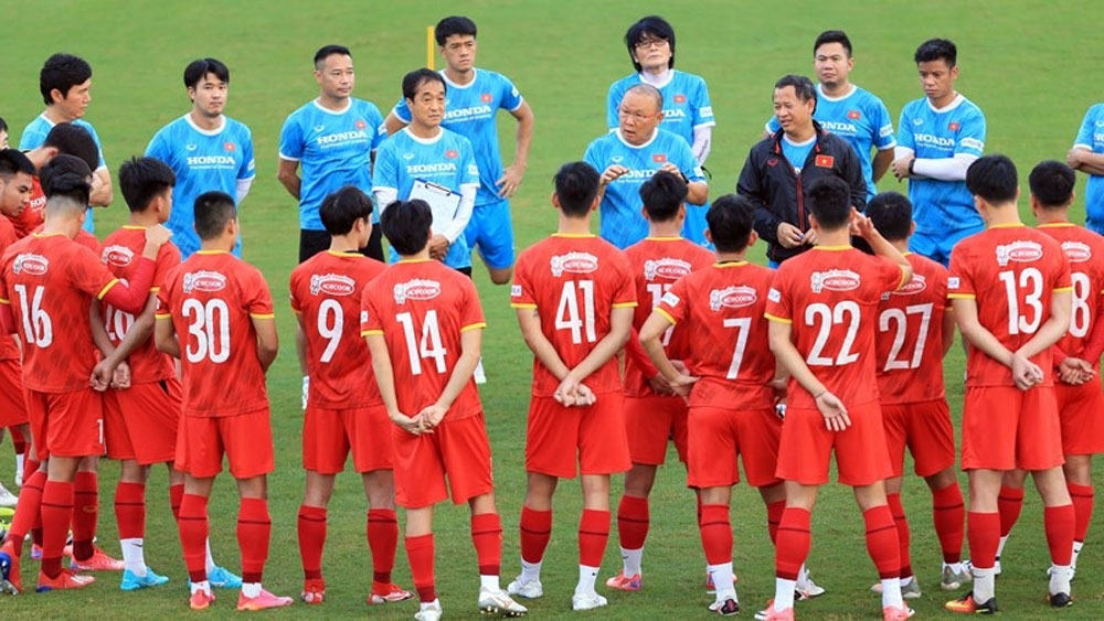 Park Hang-seo finalises Vietnam squad for upcoming World Cup qualifiers