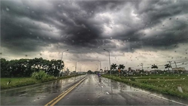 Các khu vực có mưa và dông, cục bộ có nơi mưa to