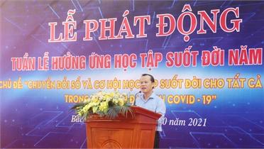 Bắc Giang: Phát động Tuần lễ hưởng ứng học tập suốt đời năm 2021