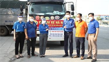 Hỗ trợ tỉnh Hà Nam 6 tấn vật tư, nhu yếu phẩm phòng, chống dịch