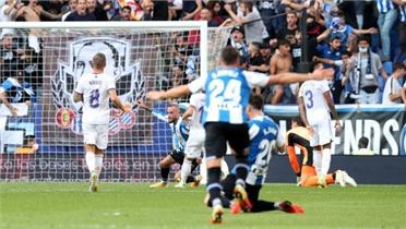 Real trắng tay trước Espanyol