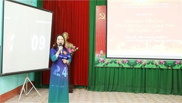 Hội thi báo cáo viên giỏi cấp huyện: Nâng chất lượng công tác tuyên truyền miệng