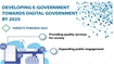 Developing e-government towards digital government by 2025