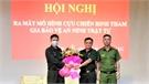 Ra mắt 13 tổ CCB tham gia bảo vệ an ninh trật tự tại Việt Lập