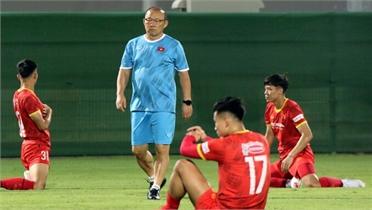 Nỗi lo của tuyển Việt Nam