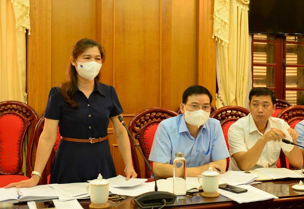 Thẩm tra, ban kinh tế-ngân sách, hđnd tỉnh, Bắc Giang