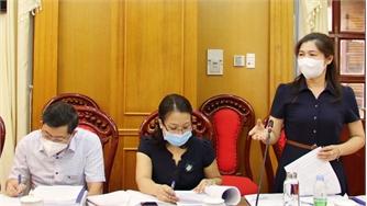 Thẩm tra dự thảo Nghị quyết thông qua Đề án đề nghị công nhận huyện Việt Yên đạt đô thị loại IV