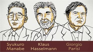 Nobel Vật lý 2021: Vinh danh 3 nhà khoa học nghiên cứu về hệ thống vật lý phức tạp