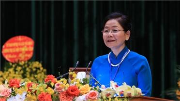 Phát biểu của Phó Chủ tịch Hội LHPN Việt Nam Trần Thị Hương tại Đại hội Phụ nữ tỉnh lần thứ XVI