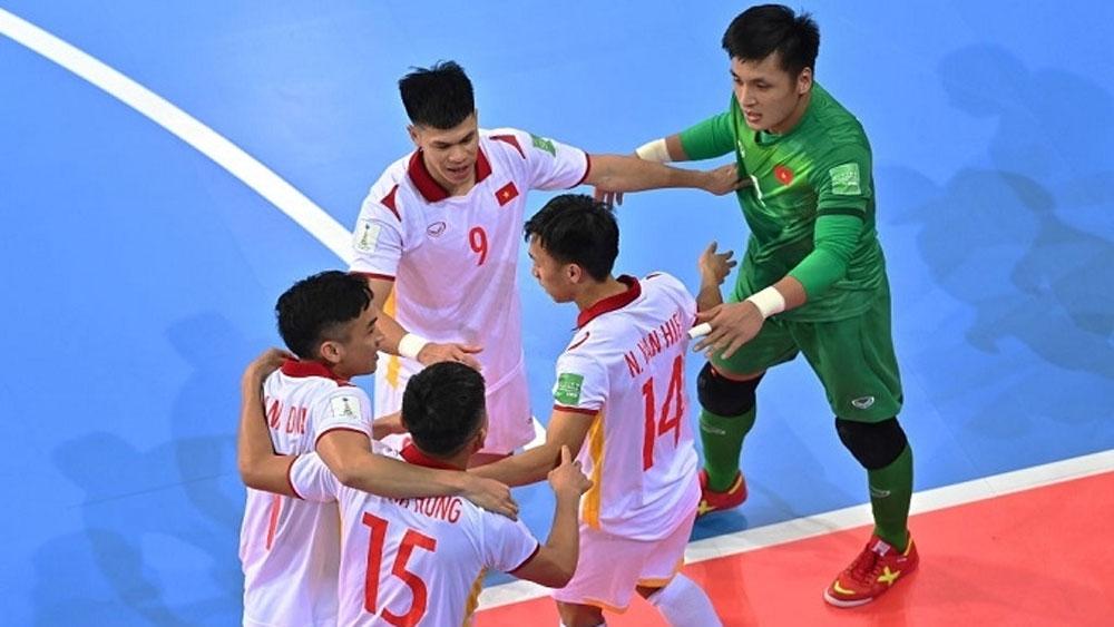Nguyen Van Hieu scores best goal at FIFA Futsal World Cup 2021