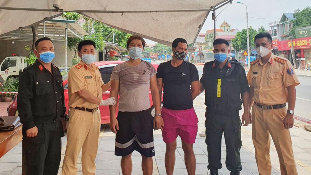 Công an tỉnh, Bắc Giang, đấu tranh, trấn áp tội phạm, Cảnh sát giao thông
