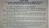 Lục Nam: Xử phạt hai đối tượng trộm cắp điện
