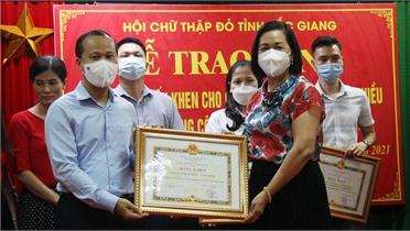 Khen thưởng 84 tập thể, cá nhân có thành tích xuất sắc trong phòng, chống dịch