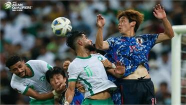 Nhật Bản thua trận thứ hai ở vòng loại World Cup