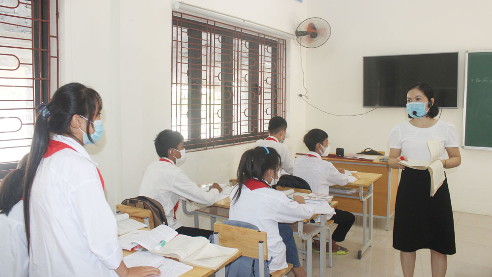 Sơn Động, Bắc Giang, trường học, kiên cố trường lớp học