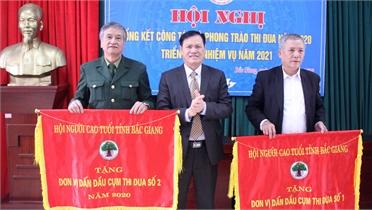 Chào mừng Đại hội Hội Người cao tuổi tỉnh Bắc Giang: Đoàn kết, đổi mới, nêu gương sáng xây dựng quê hương