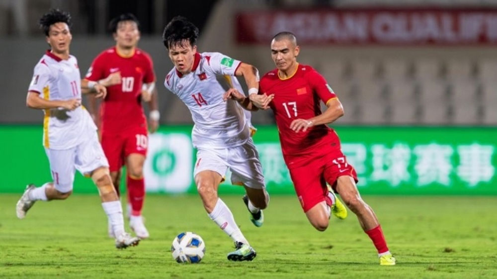 Vietnam lose to China in five-goal thriller