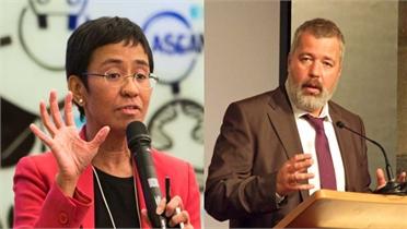 Hai nhà báo đoạt giải Nobel Hòa bình 2021