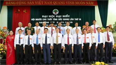 Ông Dương Văn Trọng tiếp tục được bầu làm Chủ tịch Hội Người cao tuổi tỉnh Bắc Giang