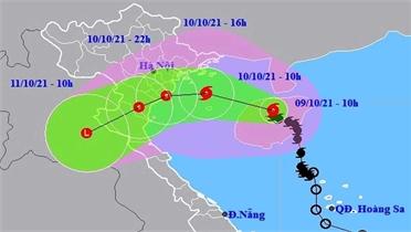 Phó Thủ tướng Lê Văn Thành chủ trì họp khẩn ứng phó mưa bão