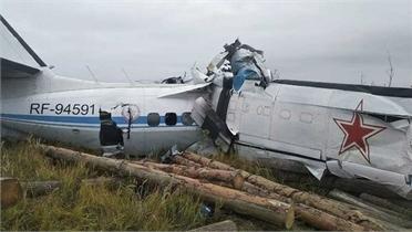 Vụ rơi máy bay tại Nga: Tổng cộng 16 người thiệt mạng