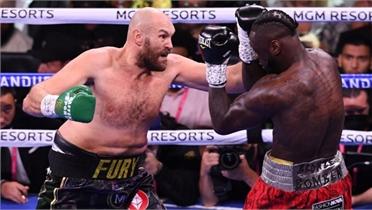 Fury bảo vệ đai WBC hạng nặng