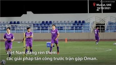 HLV Park rèn tấn công trước trận Oman