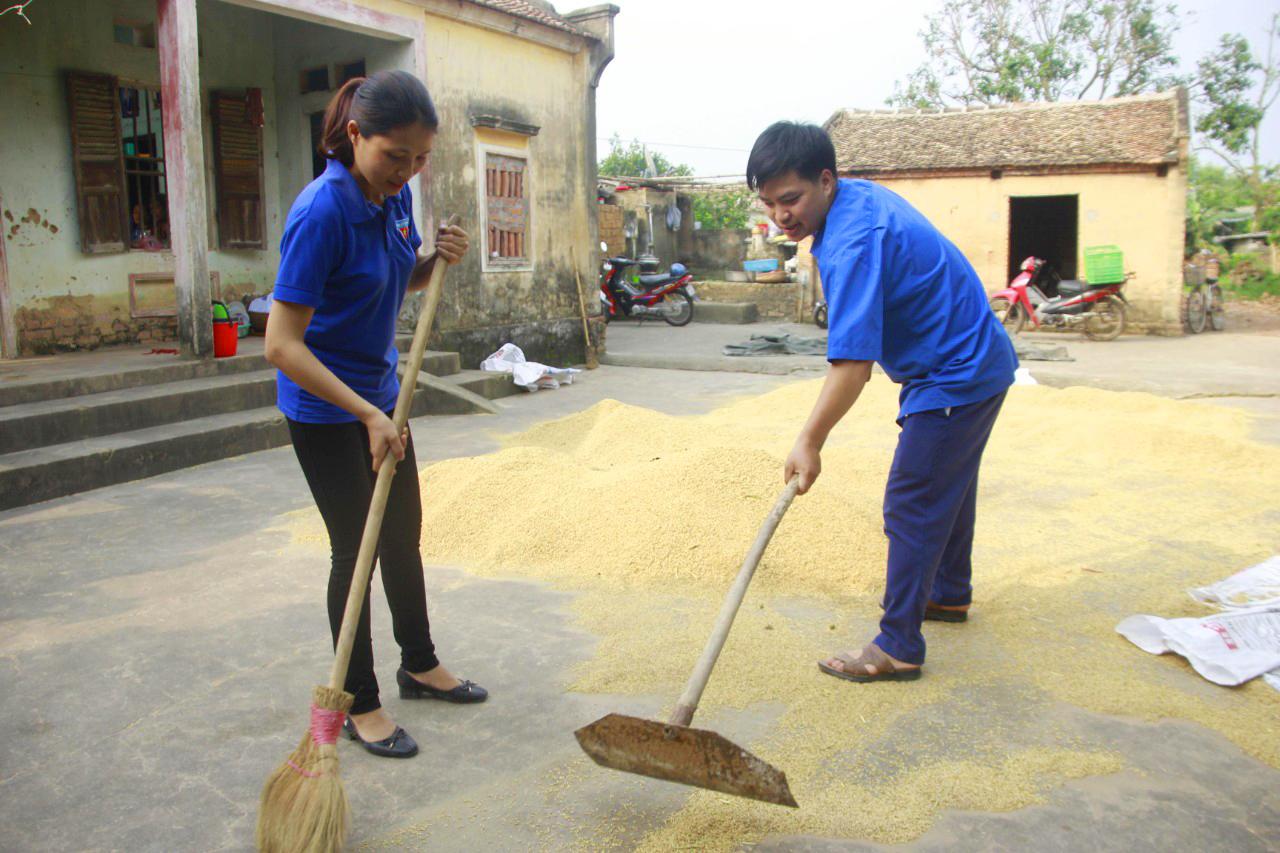 Bắc Giang, thanh niên, tình nguyện, khẩu trang, tuổi trẻ