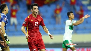 """Tiến Linh chiến thắng trong cuộc bình chọn """"Ngôi sao tương lai"""" của AFC"""