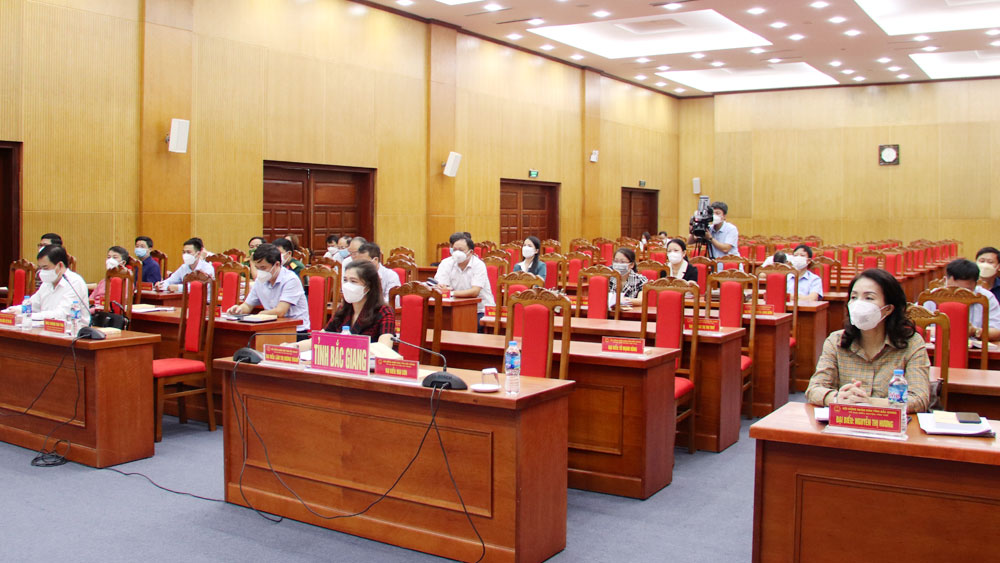 Bắc Giang, Sở Nội vụ, hội nghị, trực tuyến, đại biểu hội đồng