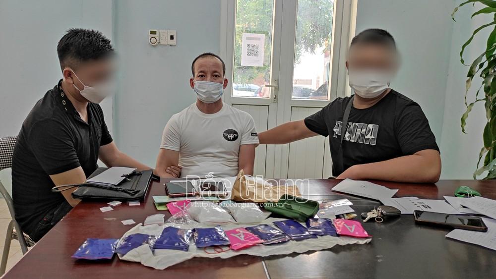 Bắc Giang: hơn 10.000 viên ma túy tổng hợp, 1,2 kg ma túy đá, Hoàng Anh Kim, Bắc Ninh