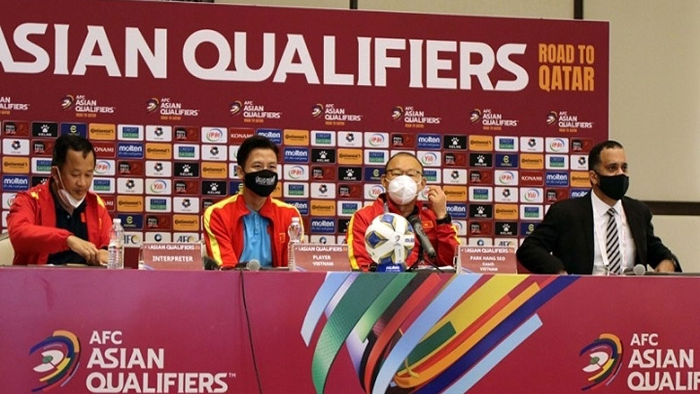 "Park Hang-seo: ""Vietnam look forward to next match with highest determination"""