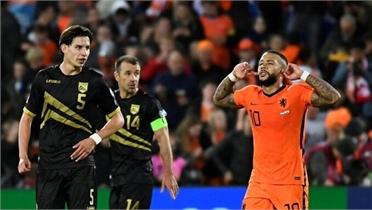 Hà Lan thắng 6-0 ở vòng loại World Cup