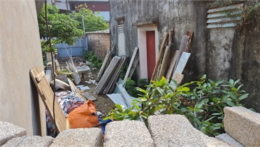 Xã Đồng Sơn (TP Bắc Giang): Hai hộ dân chiếm trọn đường ngõ