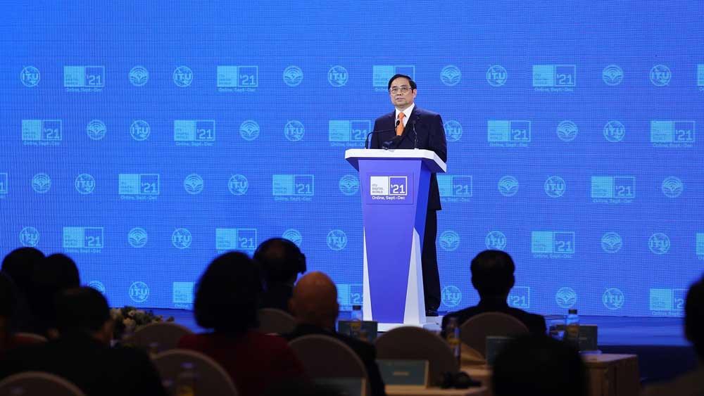 Thủ tướng Phạm Minh Chính ,chia sẻ, 5 ưu tiên hợp tác, thế giới số