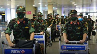 Quân đội chi viện cho TPHCM bắt đầu rút quân từ hôm nay (13/10)