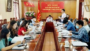 Bắc Giang: Hội thi Báo cáo viên giỏi cấp tỉnh tổ chức vào ngày 19 và 20/10
