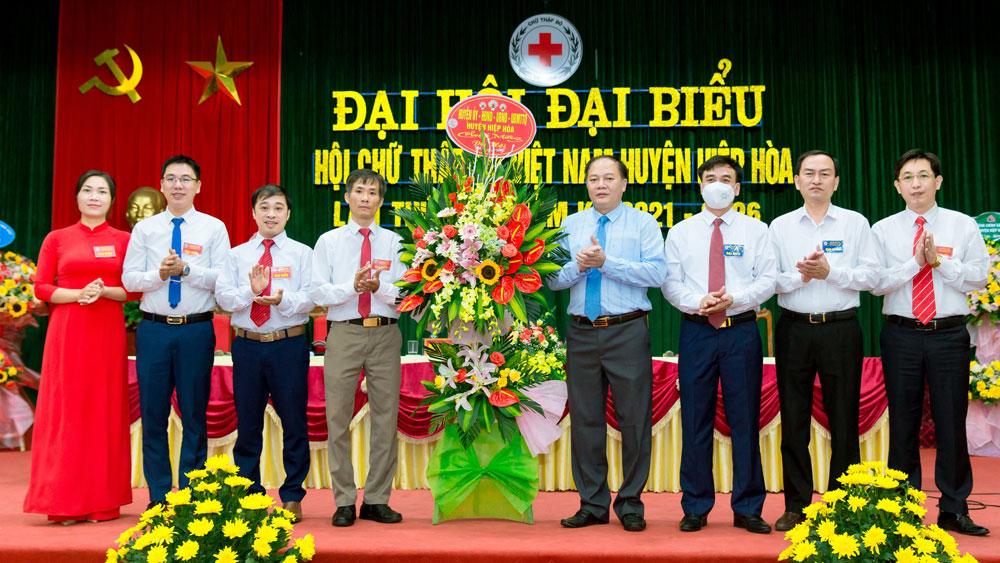 Hiệp Hoà, Bắc Giang, chữ thập đỏ, đại hội, Hội Chữ thập đỏ huyện Hiệp Hoà