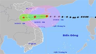 Trong 12 giờ tới, bão số 8 vào Vịnh Bắc Bộ và có khả năng suy yếu