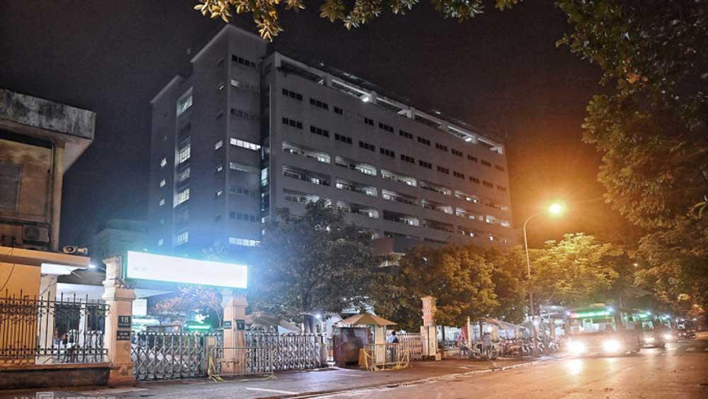 11 ca nhiễm, liên quan, Bệnh viện Việt Đức, 24 giờ