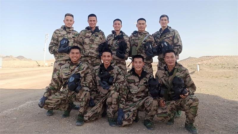 Trung úy Nguyễn Đức Sơn và giải xuất sắc hội thao quân sự quốc tế: Phần thưởng từ khổ luyện