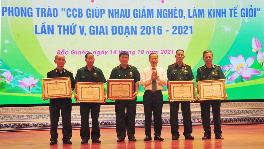Hội Cựu chiến binh, Bắc Giang, làm kinh tế giỏi, giảm nghèo