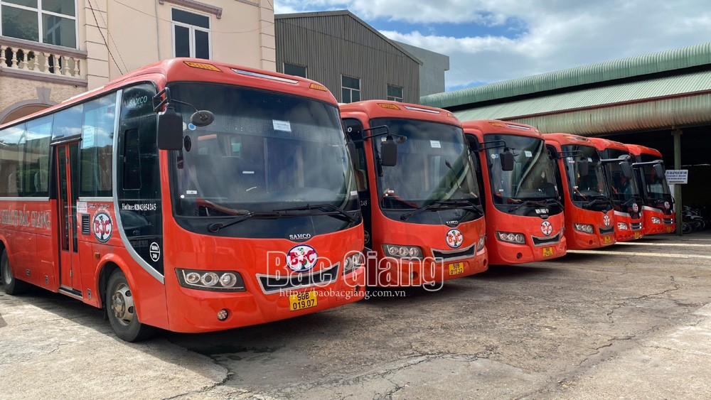 Bắc Giang, Người dân, có thể, đi xe khách, đến 8 tỉnh, thành phố
